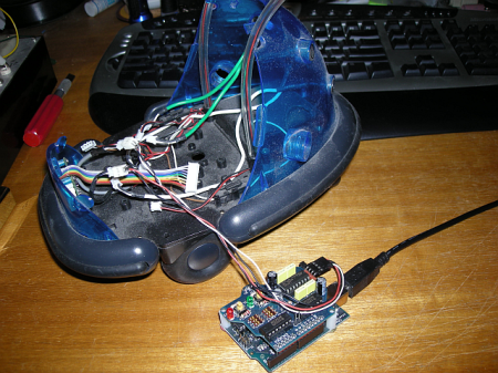 Gutted Cybot with Arduino