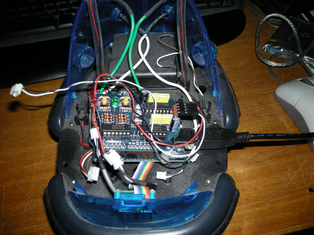 another view of the cybot and Arduino…
